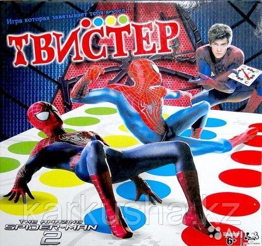 Игра Твистер Человек паук