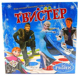 Игра Твистер Холодное сердце