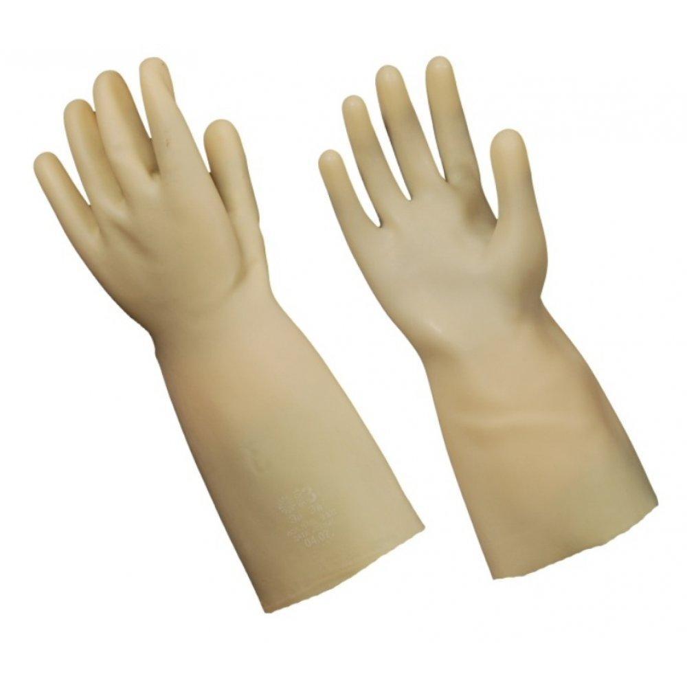Перчатки диэлектрические бесшовные (Латекс)