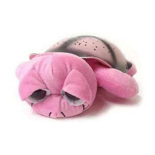 Уценка (товар с небольшим дефектом) Ночник проектор звездного неба Черепаха (розовая), фото 2
