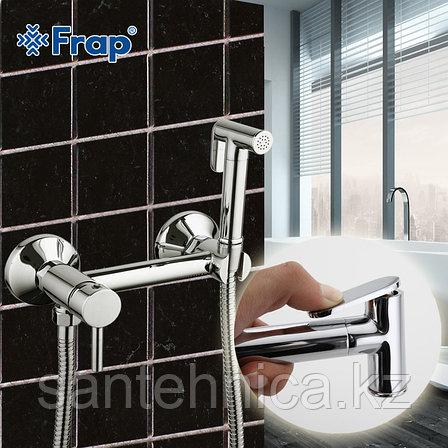 Смеситель с гигиеническим душем Frap F7503 хром, фото 2