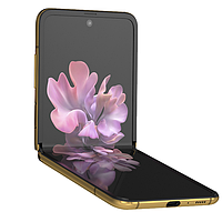 Samsung Galaxy Z Flip Золотой, фото 1