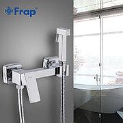 Смеситель с гигиеническим душем Frap F7504 хром