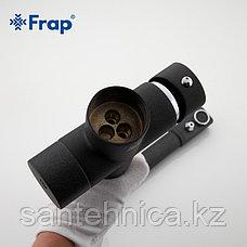 Смеситель для кухни с питьевым каналом черный Frap F4352-7, фото 3