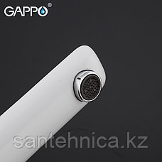 Смеситель для раковины Gappo G1048-2 белый, фото 2