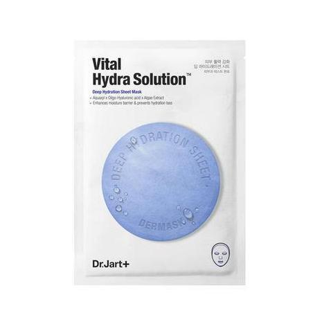 Тканевая маска для интенсивного увлажнения, Dr.Jart+, Mask Vital Hydra Solution (Поштучно), фото 2