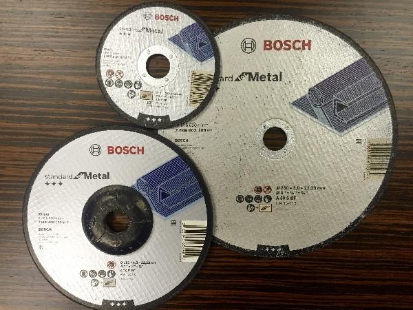 Отрезные и шлифовальные диски BOSCH