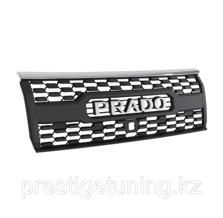 Решетка радиатора на Prado 2017- с надписем