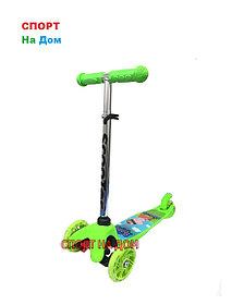 Детский самокат на 3-х колесах (серия Свинка Пеппа )