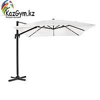 Зонт квадратный Sicilia Premium 3х3м, бежевый, в комплекте с 4-мя утяжелителями