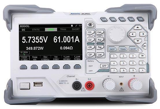 Программируемая электронная нагрузка Rigol DL3031