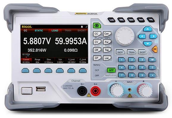 Программируемая электронная нагрузка Rigol DL3031A