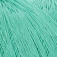 Пряжа 'Цветное кружево' 100 мерсеризованный хлопок 475м/50гр (581-Св.изумруд) (комплект из 4 шт.)