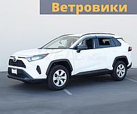 Ветровики (дефлекторы окон) Toyota Rav4 2019 - 2020 Тойота Рав4
