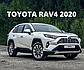 Ветровики (дефлекторы окон) Toyota Rav4 2019 - 2020 Тойота  Рав4, фото 2