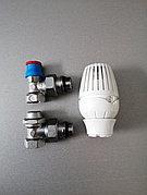 Комплект термостатический для радиатора Ду15 угловой
