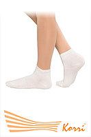 Спортивные носочки средней высоты белые, фото 1