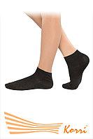 Спортивные носочки средней высоты черные, фото 1
