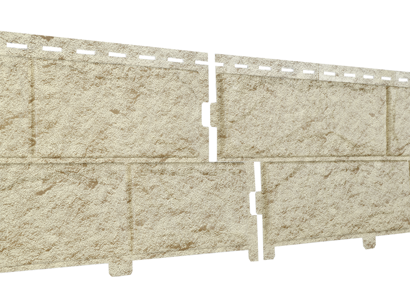 Стоун Хаус Камень ЗОЛОТИСТЫЙ  Длина  3025 мм, Ширина  225 мм, Площадь 1 шт.  0,68 м2  Фасадные панели сайдинг