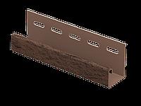 J-планка Стоун-хаус Камень ЖЖЕНЫЙ, Длина 3050 мм, фото 1