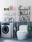 Полка для унитаза из нержавеющей стали, полка для кухонной стиральной машины, стойка для ванной комнат, фото 2