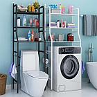 Полка для унитаза из нержавеющей стали, полка для кухонной стиральной машины, стойка для ванной комнат, фото 3