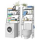 Полка для унитаза из нержавеющей стали, полка для кухонной стиральной машины, стойка для ванной комнат, фото 5