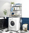 Полка для унитаза из нержавеющей стали, полка для кухонной стиральной машины, стойка для ванной комнат, фото 6