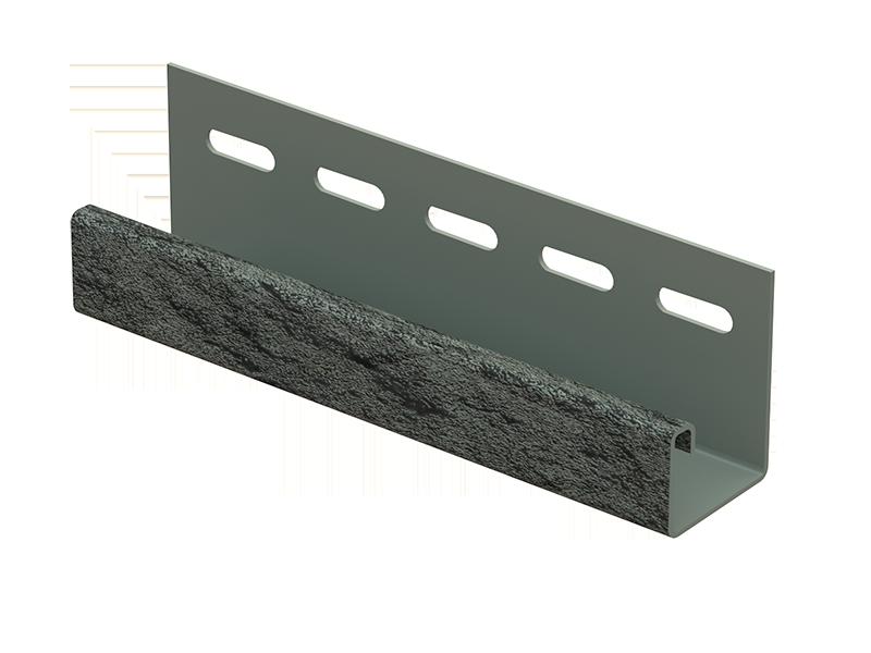 J-планка Стоун-хаус Камень ИЗУМРУДНЫЙ, Длина 3050 мм
