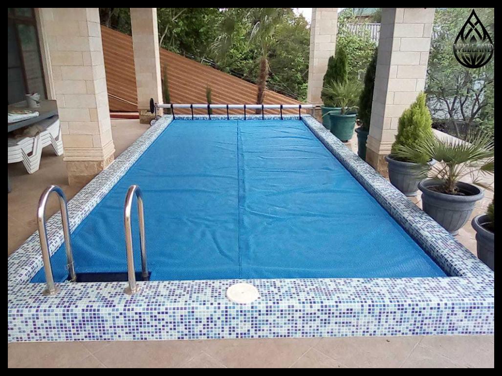 Солярная пленка - покрывало для бассейна
