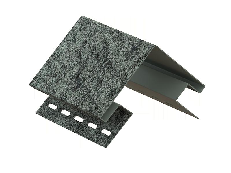 Наружный угол Стоун-хаус Камень ИЗУМРУДНЫЙ, Длина 3050 мм