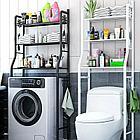 Полка для унитаза из нержавеющей стали, полка для стиральной машины, стойка для ванной комнат, фото 4