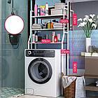 Полка для унитаза из нержавеющей стали, полка для стиральной машины, стойка для ванной комнат, фото 5
