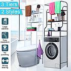 Полка для унитаза из нержавеющей стали, полка для стиральной машины, стойка для ванной комнат, фото 6