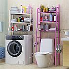 Полка для унитаза из нержавеющей стали, полка для стиральной машины, стойка для ванной комнат, фото 7