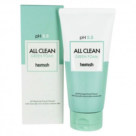 Очищающая пенка для лица Heimish All Clean Green Foam (150мл)