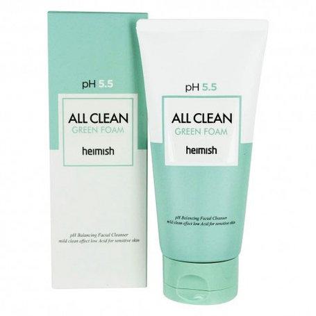Очищающая пенка для лица Heimish All Clean Green Foam (150мл), фото 2
