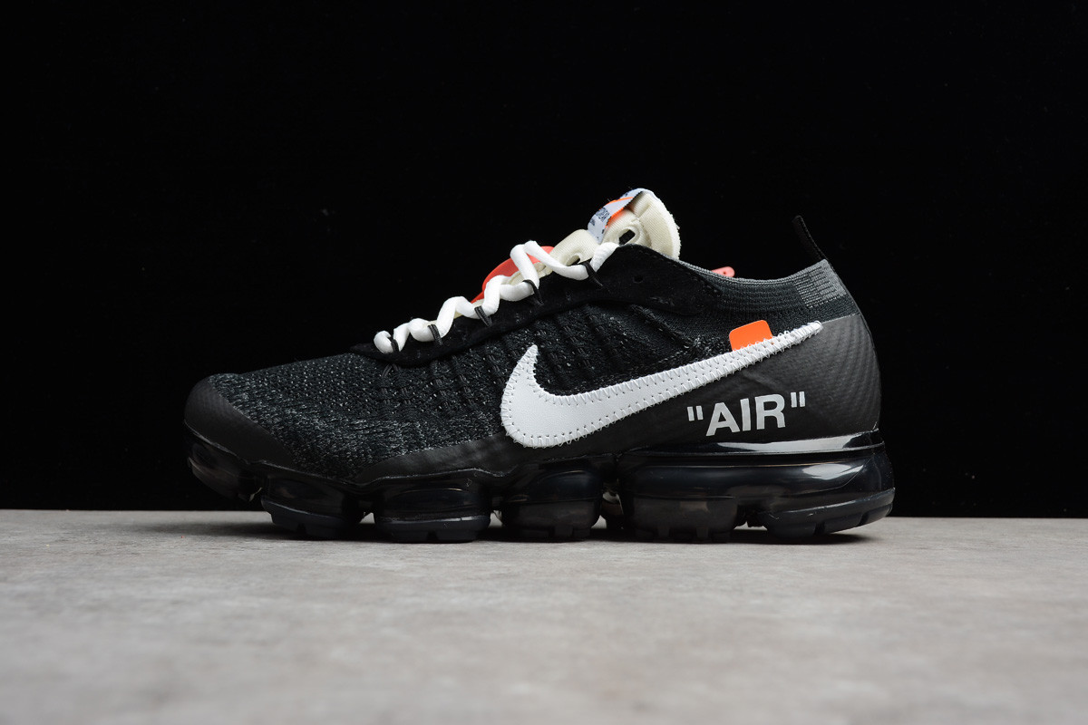 "Кроссовки Off-White x Nikе Air VaporMax Flyknit ""Black"" (40-45)"
