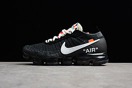 "Кроссовки Off-White x Nike Air VaporMax Flyknit ""Black"" (40-45)"