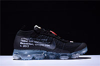 """Кроссовки Off-White x Nike Air VaporMax Flyknit """"Black/Clear"""" (40-45), фото 2"""