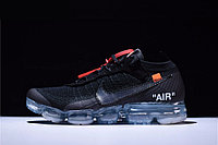 """Кроссовки Off-White x Nikе Air VaporMax Flyknit """"Black/Clear"""" (40-45)"""