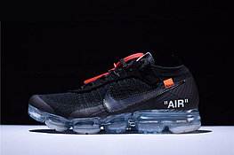 "Кроссовки Off-White x Nike Air VaporMax Flyknit ""Black/Clear"" (40-45)"