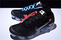 """Кроссовки Off-White x Nike Air VaporMax Flyknit """"Black/Clear"""" (40-45), фото 5"""