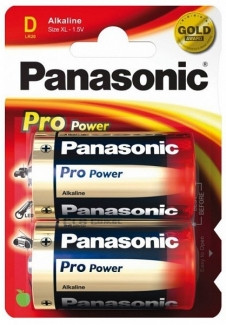 Батарейки Panasonic Pro Power LR20PPG/2BP тип D (2 шт)