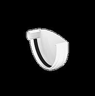 ЗАГЛУШКА ЖЕЛОБА ЛЕВАЯ 120 мм GIZA (Белый) ЛЕВАЯ