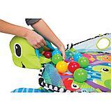 Развивающий коврик-манеж Activity gym and ball pit c шариками, фото 4