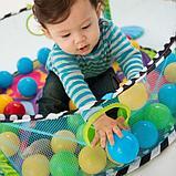 Развивающий коврик-манеж Activity gym and ball pit c шариками, фото 3