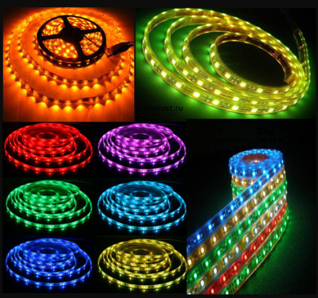 Светодиодная лента, led - лента, диодная лента, светящаяся лента