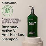 Шампунь против выпадения волос с розмарином Aromatica Rosemary Active V Anti-Hair Loss Shampoo, фото 2