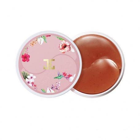 Гидрогелевые патчи с экстрактом цветков гибискуса (китайской розы) Jayjun Roselle Tea Eye Gel Patch (60шт.), фото 2